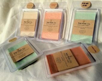 Clam Wax Melts-You choose scents