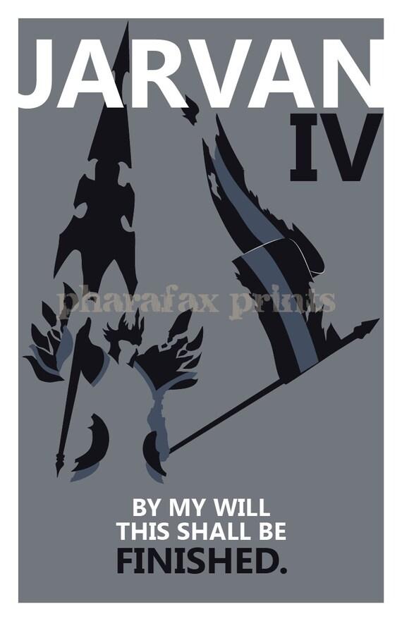 Jarvan IV: League of Legends Print