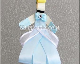 Cinderella Hair Clip, Cinderella Ribbon Sculpture Hair Clip, Princess Hair Clip, Princess Hair Bow, Cinderella Hair Bow