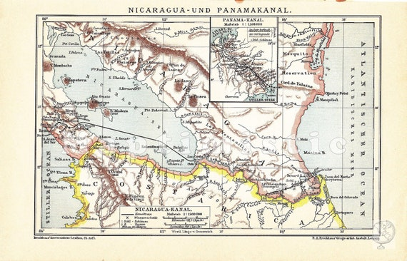 cape horn and nicaragua canal 2009-6-29 map of a map of the proposed isthmian canal routes in nicaragua and panama between  by a trans–isthmus crossing rather than the traditional cape horn.