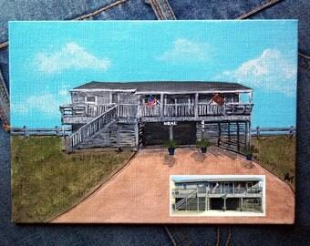 Hand Painted House Portrait