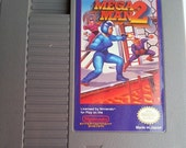 Mega Man 2 - For The Nintendo Entertainment System - Vintage - 1988 - Collectable