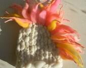 Knit Newborn Mohawk Beanie