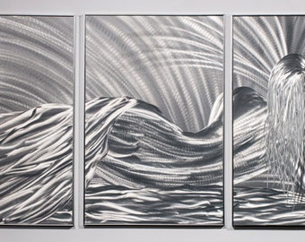 Modern Abstract Painting Metal Wall Art Sculpture Sleeping Beauty