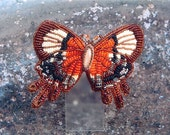 Autumn Harvest Butterfly Barrette