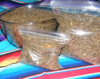 Two Pounds Native American Hand Harvested Wild Rice from White Earth MN, Organic, Wood Parched, New Crop 2016