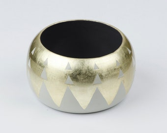 Bracelet AGUAYO Grey & Gold