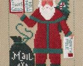 Prairie Schooler 2012 Santa Counted Cross Stitch Pattern