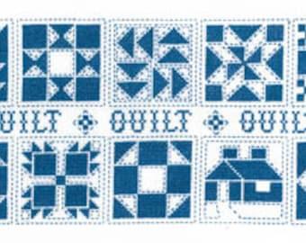 Imaginating Quilt Quilt Quilt Cross Stitch Pattern