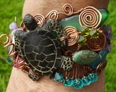 Sea Turtle Hawaii Fantasy Cuff