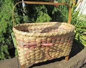 Magazine Storage Basket