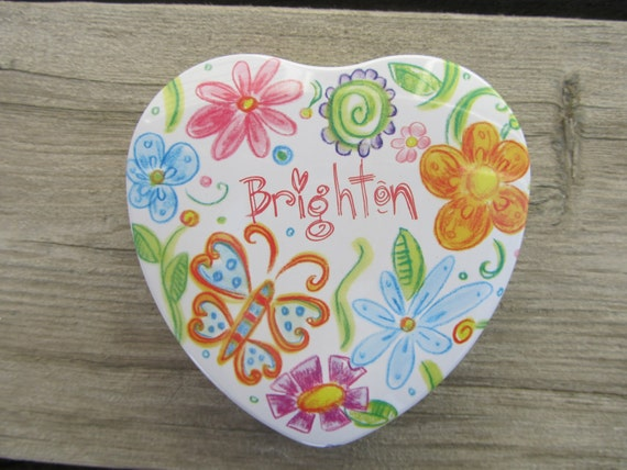 Small Brighton butterfly tin jewelry box for her gift ideas under 10 spring