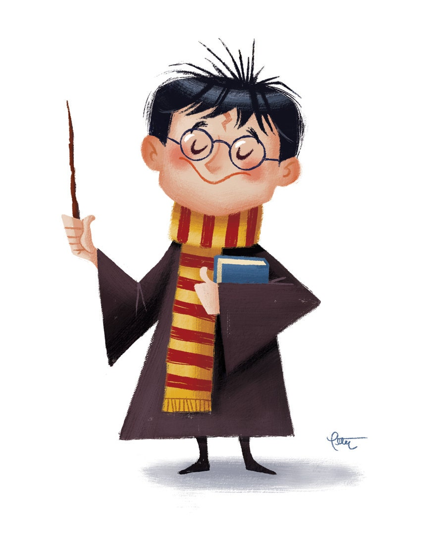 Happy Harry Potter Days 3 5: Happy Birthday Harry 11x14 Print By Peteremmerich On Etsy