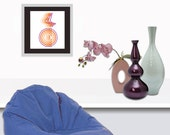 MODERN WALL ART, Vibrations  -  Modern abstract Art Print by Nice Visuals