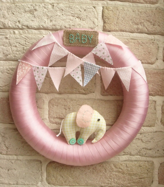 Popular Items For Nursery Decor On Etsy Baby Shower: Items Similar To BABY WREATH Room Nursery Wreath Decor