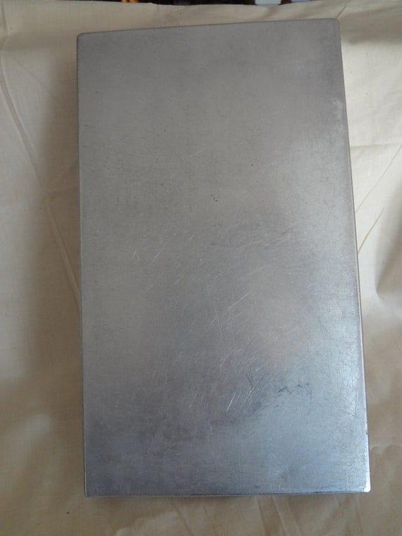Vintage Aluminum Clip Board Work Orders Calculator