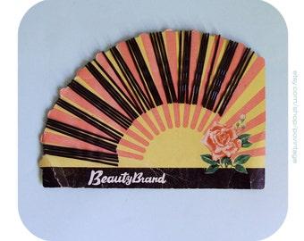 Vintage set of black hair pins, vintage hair pins