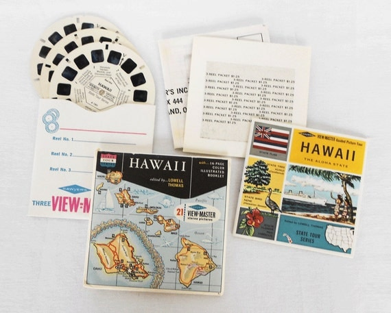 View Master Reels Hawaii Set A120