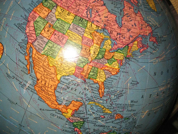 "1960 Crams Imperial 12"" Globe"