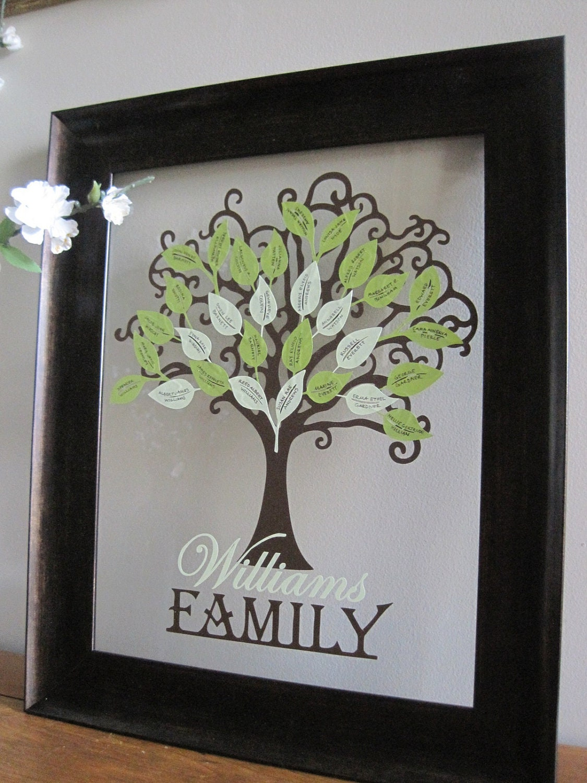 family tree kit vinyl