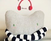 handmade--cat Pillow with long long arms,Cushion