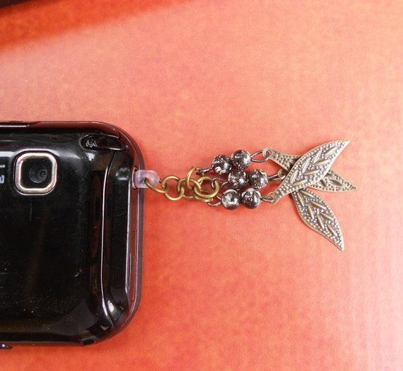 Buy 2 Get 1 FREE Ear cap hippie1 - Anti-Dust Plug Ear Cap 3.5mm for iPhone iPod.