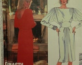 """Dress by Linda Evans -1980's- McCall's Pattern 2275  Uncut  Size 12  Bust 34"""""""
