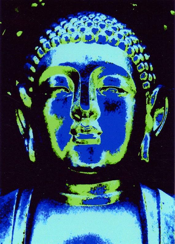 Midnight in the Garden of the Blue Buddha Fine Art Photo