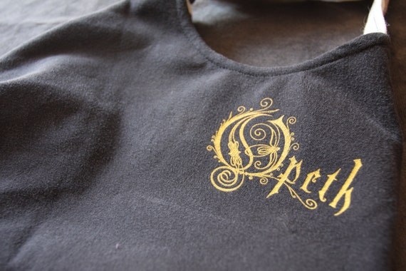 Opeth - Upcycled Rock Band T-shirt Purse - OOAK