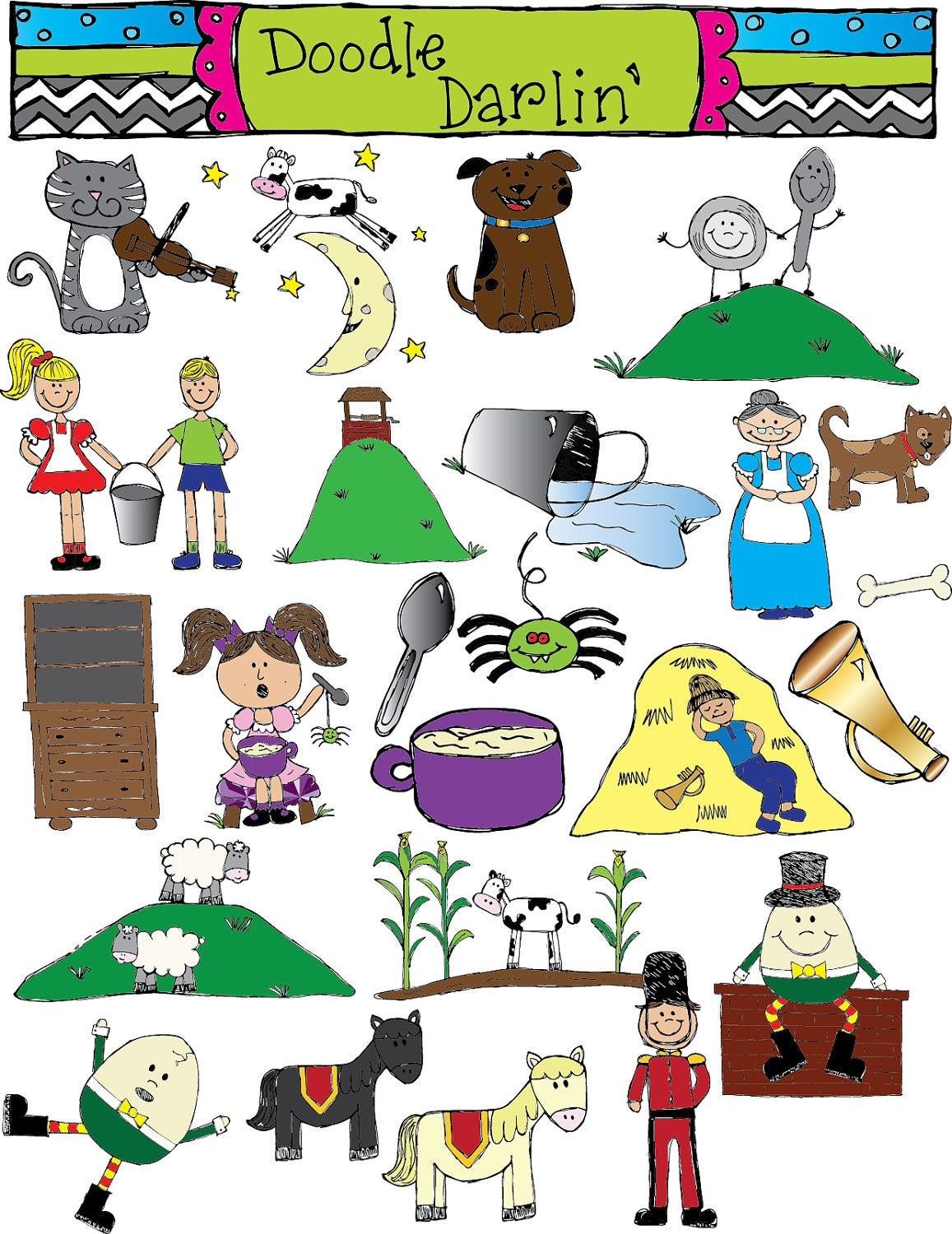 free clipart images nursery rhymes - photo #39