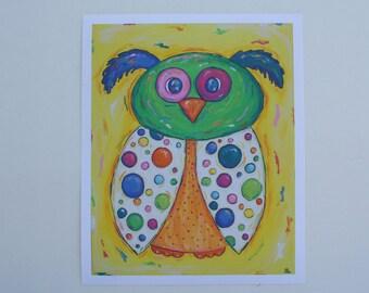 Circus Owl (reprint)