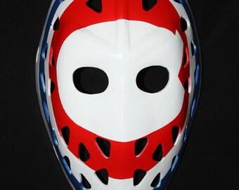Hockey mask, Hockey goalie, NHL ice hockey, Roller Hockey, Hockey goalie mask, Hockey helmet Montreal Ken DRYDEN Mask HO08 et