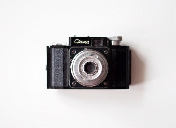 Vintage Soviet Camera - Smena-1