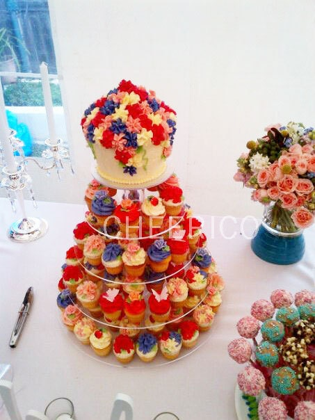 wedding cake tree new zealand 5 tier wedding mirrored effects cupcake stand by 26705
