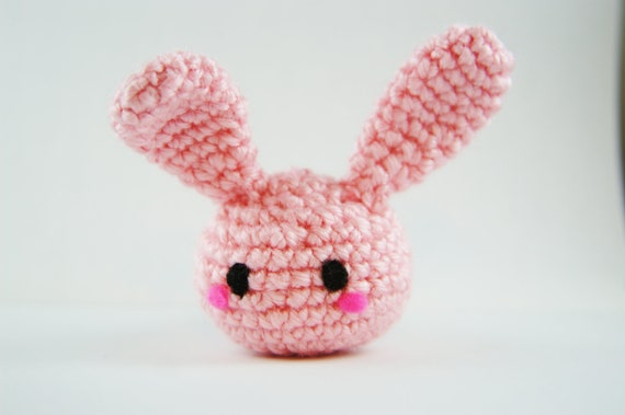 Amigurumi Bunny Keychain : Crochet Bunny Amigurumi Bunny Crochet Bunny Keychain