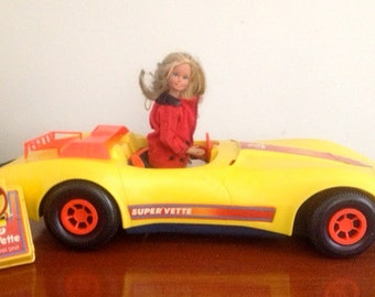 SALE-1979 Barbie Corvette Remote Control Car