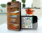 Vintage Fishing Lures - iPhone 4 Case, iPhone 4S Case, iPhone 5, Samsung Galaxy S4, Samsung Galaxy S3, iPod Touch 5, iPod Touch 4