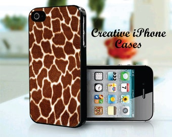 Giraffe Skin - Iphone 4 Case, iPhone 4S Case, iPhone 5, iPhone 5S, iPhone 5C