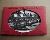 Vintage French Photos Souvenir Cards-Besançcon