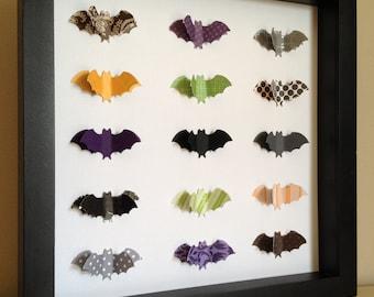 Halloween Bats, 3d Paper Art