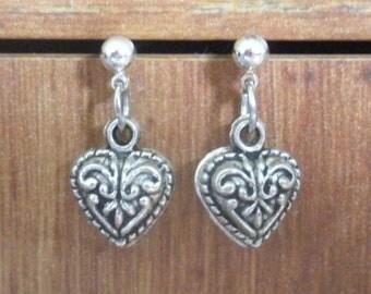 Rosemaling-style Heart - #120