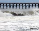 Fine Art Photography- Wild Water- Myrtle Beach 10x8 Print