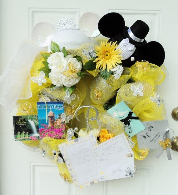 Wedding Wreath Memory Wreath Custom made with your wedding colors