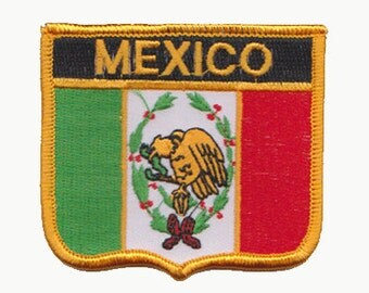 mexico flag patch