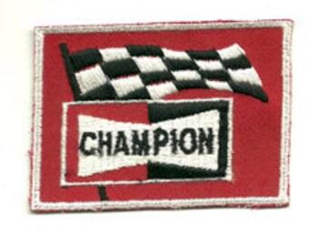 champion flag patch