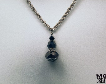 Black Swan necklace (N-03)