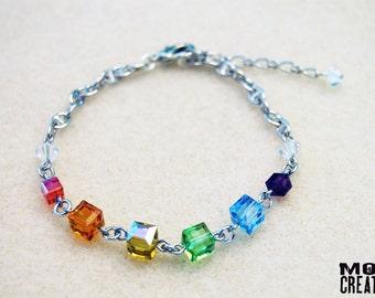 Rainbow Pride bracelet (B-01)
