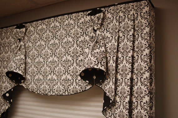Decorating Custom Window Valances Inspiring Photos