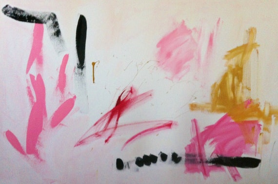 Thisbe, original abstract painting