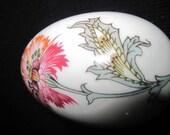 Vintage Limoges Porcelain Egg Box